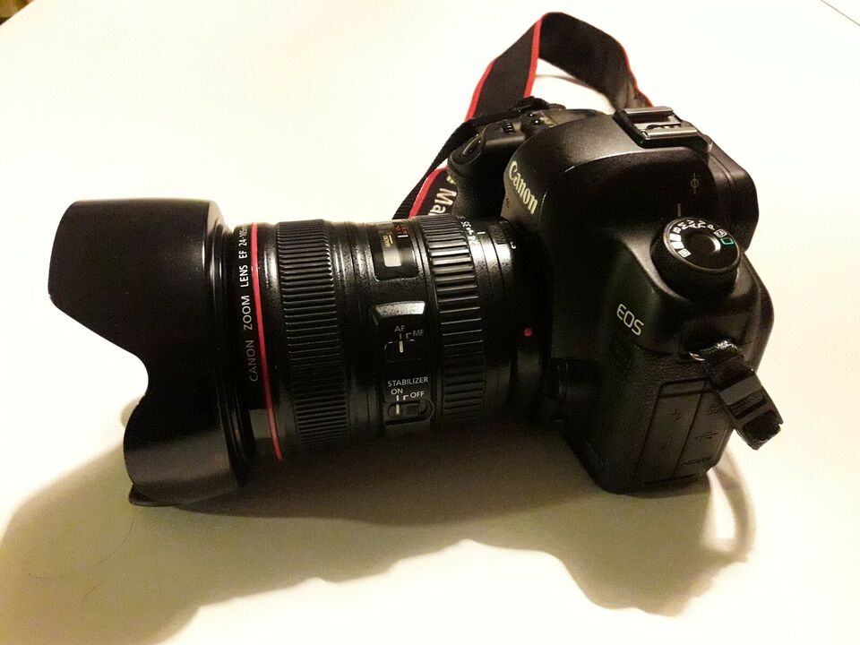 Canon, EOS 5D Mark ll, 21,1 megapixels