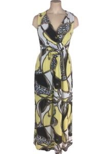 info for 41f19 f76be Details zu Maxikleid Gr.46+48+50+52 Sommerkleid Stretchkleid gelb Maxi  Kleid lang Damen Neu