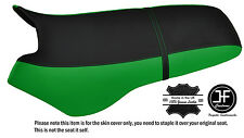 BLACK & GREEN CUSTOM FITS SEA DOO XP 93-96 AUTOMOTIVE VINYL SEAT COVER + STRAP