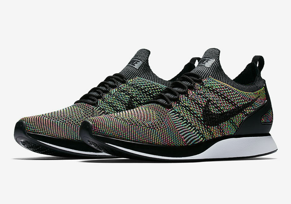 Nike Air Zoom Mariah Flyknit Racer 918264-101 White/Black Brand New Comfortable The latest discount shoes for men and women