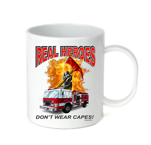 15 Cup Don't Travel Heroes Coffee Real 11 Wear Oz Firefighter Mug 3jLq4AR5