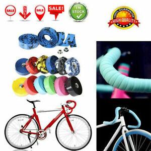 Handlebar Tape Cycling Road Bikes Cycling Rubber Foam Handle Bar Grip Wrap Tape