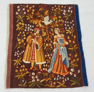 Vintage French Beautiful Scene Tapestry 80X69cm (T986)