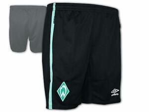 Umbro-Werder-Bremen-Training-Short-20-21-schwarz-SVW-Turnhose-Sporthose-S-3XL
