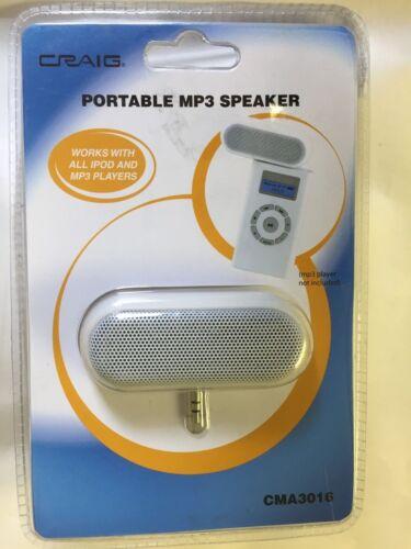CRAIG CMA3016 PORTABLE MP3 SPEAKER New 3.5MM Jack