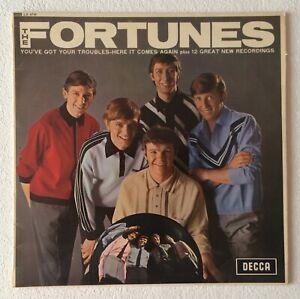 FORTUNES-SELF-TITLED-1965-UK-14-TRACK-MONO-VINYL-LP-RECORD-DECCA-LK-4736