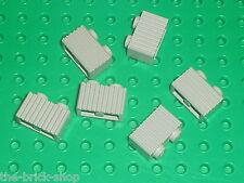 6 x LEGO Star Wars OldGray brick ref 2877 / set 7191 7171 10001 4558 7150 7152..