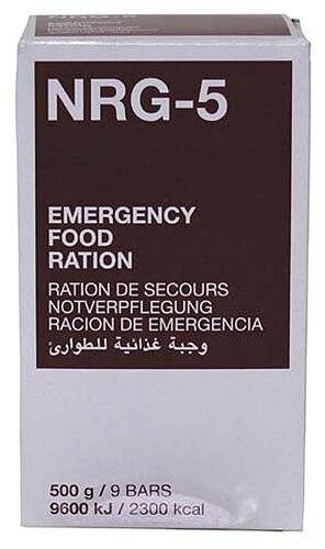 24x notverpflegung nrg-5 Survival 500 G 9 Loquet rations crises survivalnahrung