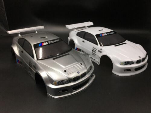1//10 Onroad Drift Rc Car Body Shell E30 E34 E30 EZ4 E46 M5 M6 M3 For Tamiya tt01