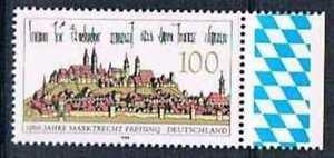 Allemagne-1996-Mi-N-1856-Mnh-1000-Jahre-Marktrecht-fur-Freising