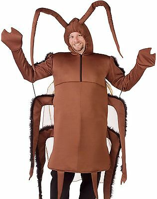 Cockroach Costume Adult Unisex Gross Insect Bug Roach Cock Roach - Fast Ship -