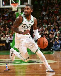 hot sale online 2a842 2db88 Kyrie Irving SUPERSTAR Boston Celtics 2018 Premium 16x20 NBA ...