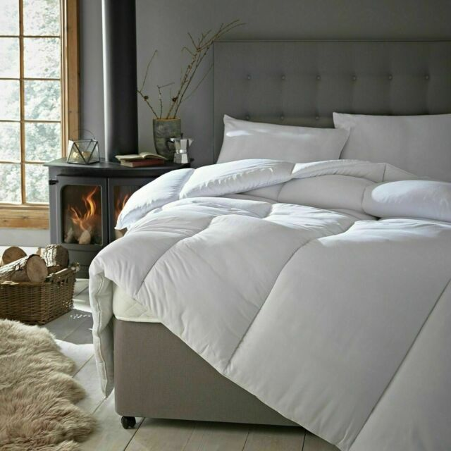 Luxury 7.5 Tog Hollowfibre Summer Duvet Soft Touch Quilt Cool /& Light Weight