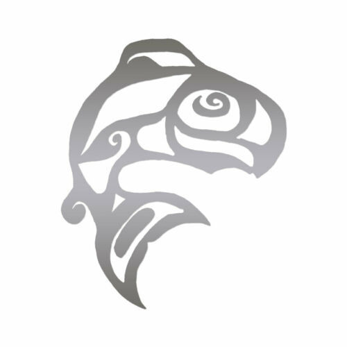 Multiple Color /& Sizes Tribal Fish ebn410 Vinyl Decal Sticker