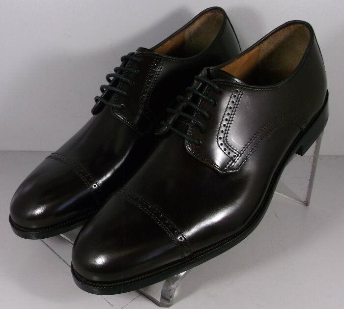 151773 MS50 Men's Shoes Size 13 D Burgundy Leather Lace Up Johnston & Murphy