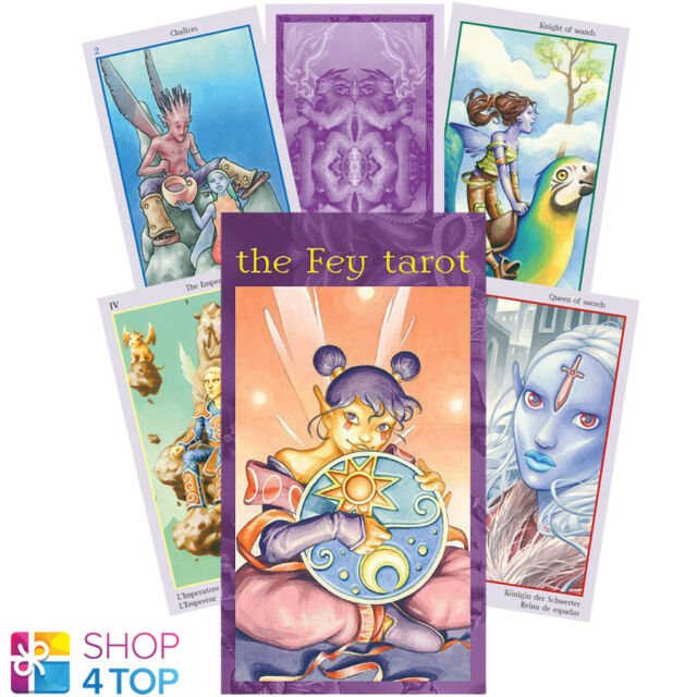 The Fey Tarot Deck Cards Lupatelli Esoteric Fortune Telling Lo Scarabeo For Sale Online Ebay