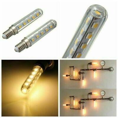 2pcs E14 1.5W Cool White LED Light Bulb For Cooker Hood Chimmey Fridge UKX