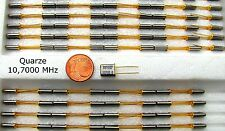 Quarze 10,700 MHz von KVG und weitere 500 Frequenzen Quarze & Oszillatoren