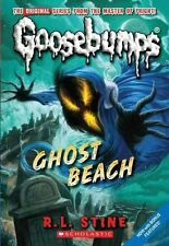 Classic Goosebumps #15: Ghost Beach-ExLibrary