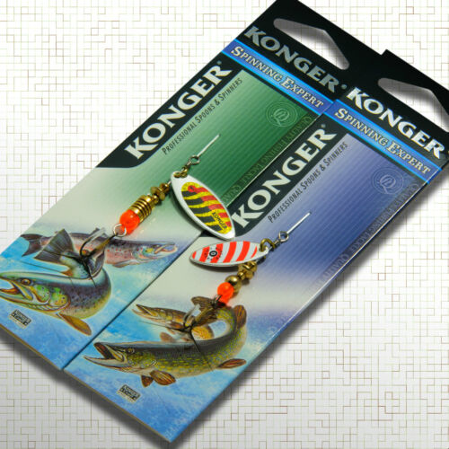 Spinner Bait Trout Pike Perch Fishing Lure Big Game Chub