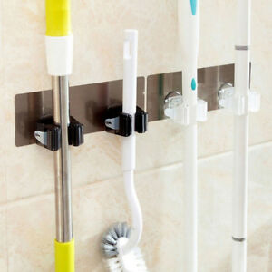 Mop-Broom-Holder-Wall-Mounted-Hanger-Kitchen-Organizer-Storage-Hook-Rack-Bath