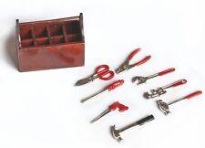 Modelo De Barco Accesorios-Graupner MZ0032 Caja de herramientas con herramientas escala 1:8