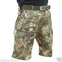 Plus Size Men's Summer Outdoor Short Pants Shorts For Hunting Fishing Birding