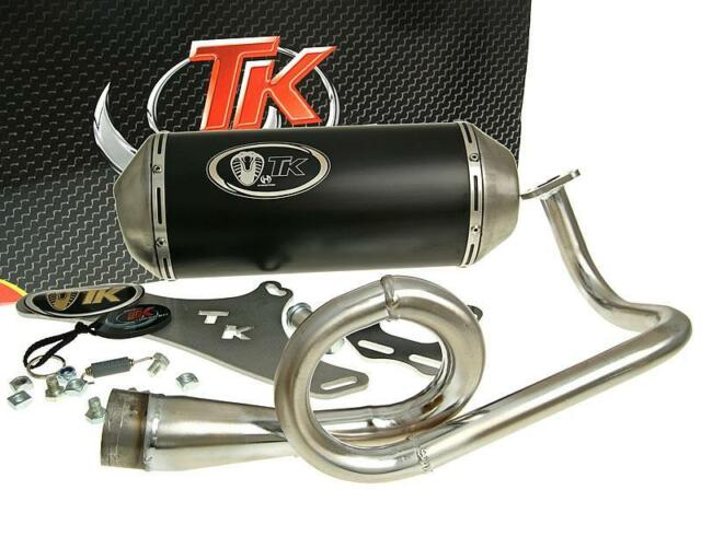 Sport-Auspuff Turbo Kit GMax M4T060-N Daelim S4 Kymco Agility Basic Carry 4T 50