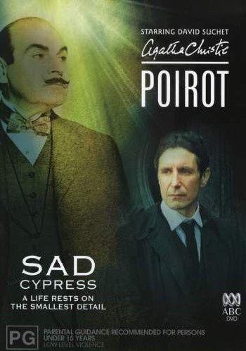 Agatha Christie - Poirot - Sad Cypress (DVD, 2004)