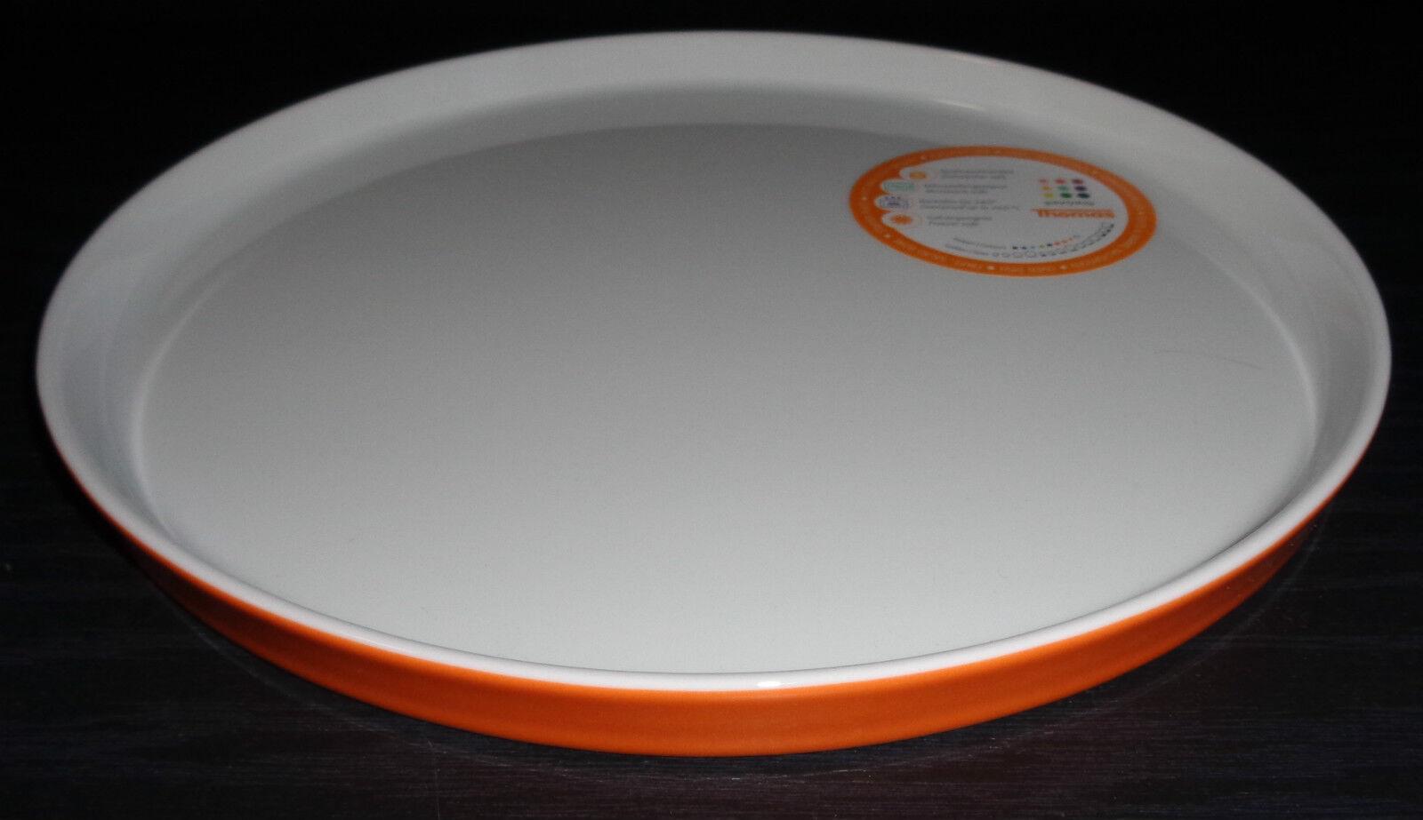 Thomas Sunny Day Orange   Gratin    Auflaufform   Teller   27 cm Neuware   | Ich kann es nicht ablegen