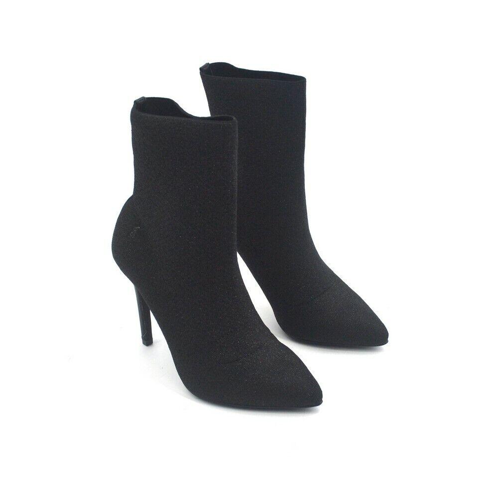 Chaussures GATTINONI ROMA PINZO0778WTX000 STIVALETTI ANKLE bottes LUREX noir noir 201