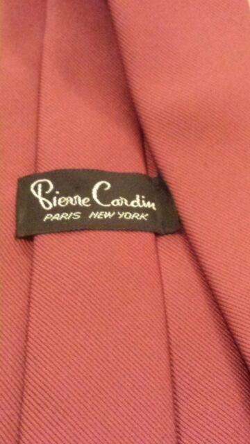 "Vintage, Pierre Cardin, Solid Mauve, Skinny, Neck Tie (56"")"