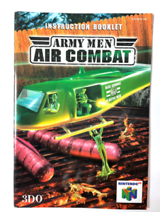 Army Men Air Combat N64 Nintendo 64 Instruction Booklet Manual Only Book NO GAME