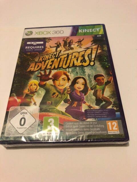 🤩 xbox 360 neuf blister officiel pal fr kinect adventure aventure + demo