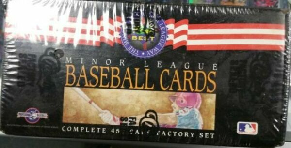 Classic//Best Derek Jeter Rookie in The Box 1992 Minor League Baseball Complete 450 Card Factory Sealed Set