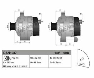DENSO Alternator DAN1037
