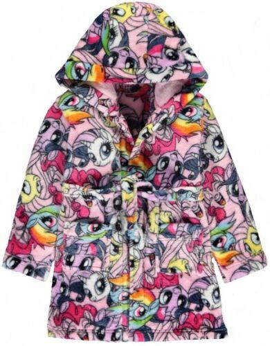 7,8,9 Jahre,Neu mit Etiketten 2017 Offiziell Bademantel Robe My Little Pony