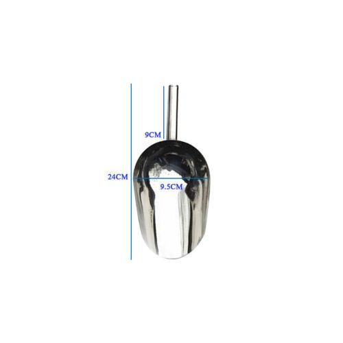Stainless Steel Ice Scoop Metal Food Bar Shovel Sugar Flour Grain Measuring Tool