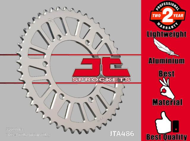 JT Rear Sprocket 46T 520P JTA486.46 Aluminium Silver Yamaha YZF-R1 1000 2005