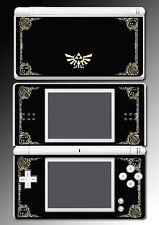 Legend of Zelda Link Princess Hyrule Logo Video Game Skin Cover Nintendo DS Lite