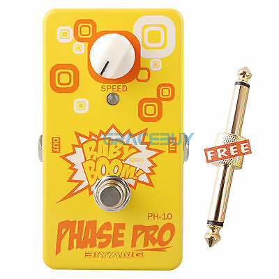 Biyang Baby Boom PH-10 Phase Pro Phaser Guitar Effects Pedal True Bypass Pedal