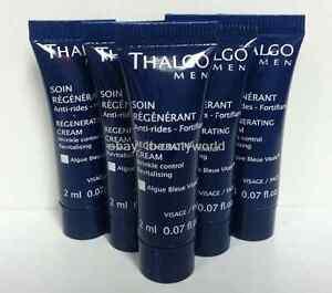 5pcs-Thalgo-Men-regenerante-rides-creme-echantillon-de-2ml-de-controle