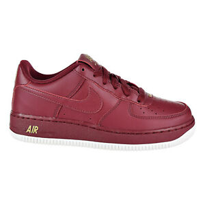Details about Nike AF1 (GS) Air Force 1 Team Red Summit White Grade School 314192 613