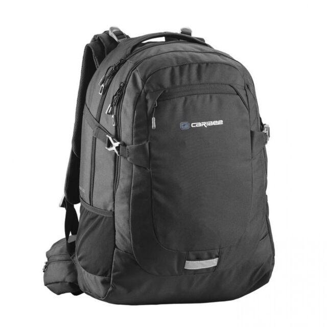 NEW Caribee College 40 X-Tend  40L Daypack Navyblack - Travel Laptop Backpacks -