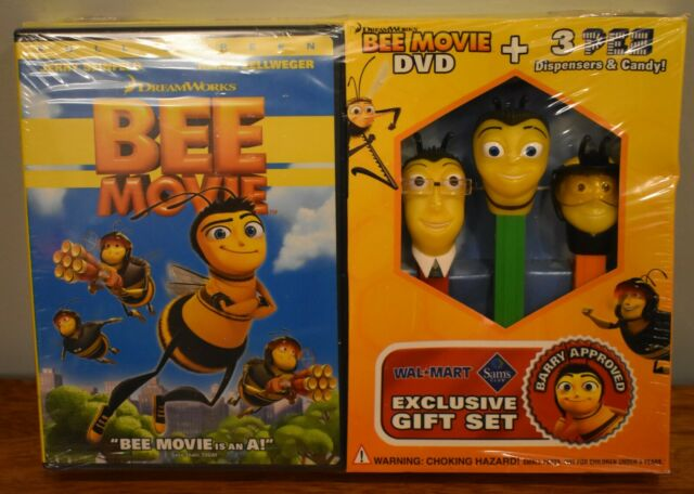 Pez Exclusive Gift Set Bee Movie 2007 For Sale Online