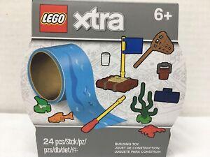NEW Lego Xtra Water Tape Accessory Set ~ Raft 10 Elements BNIB 854065