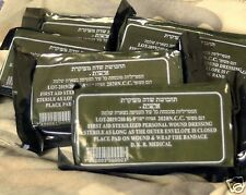 LOT 10 dressingTrauma Bandage Field Emergency IFAK Israeli Army 2021 IDF NIB emt