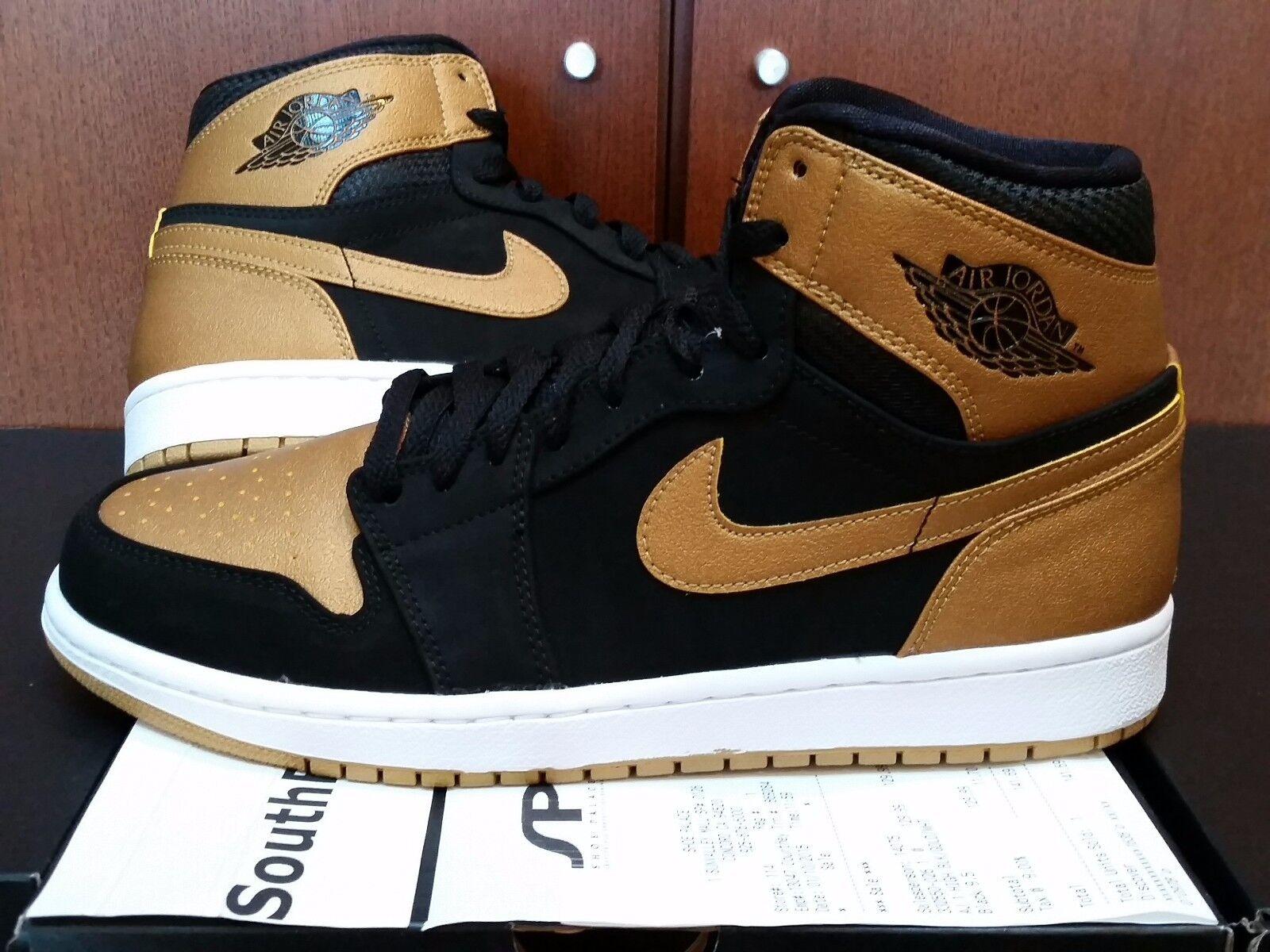 Air Jordan 1 Melo With Receipt I Retro Black Gold Carmelo Anthony 332550-026 DS