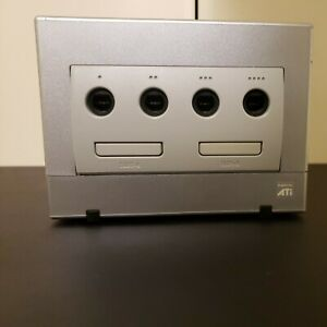 Nintendo GameCube Console silver DOL-101 JPN TESTED AND WORKING