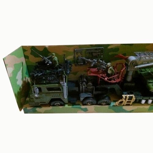 soldats lot jeu jouet Réservoir Héros militaires armée équipement Transport Camion